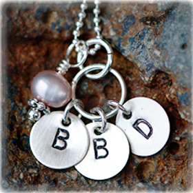 Itty Bitty Initials Necklace